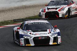 #25 Sainteloc Racing, Audi R8 LMS: Romain Monti, Edward Sandström