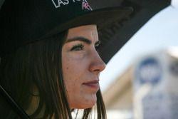 Chica de la parilla Argentina Las Toscas Racing