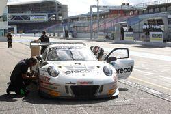Boxenstopp von #99 Precote Herberth Motorsport Porsche 911 GT3 R: Robert Renauer, Martin Ragginger