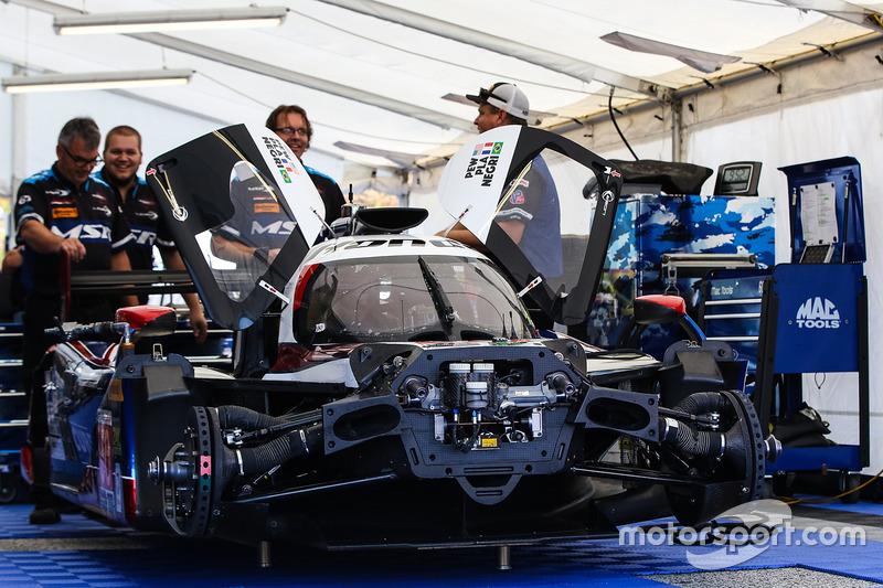 #60 Michael Shank Racing with Curb/Agajanian, Ligier JS P2 Honda: John Pew, Oswaldo Negri, Olivier Pla