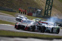 #74 ISR, Audi R8 LMS GT3: Franck Perera, Marlon Stockinger