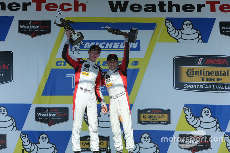 GTD Podyum: 1. Madison Snow, Bryan Sellers, Paul Miller Racing