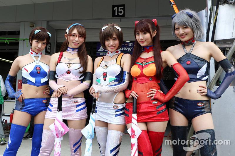 Lovely Evangelion Racing girls