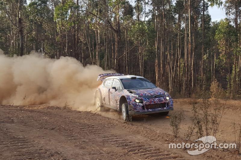 Kris Meeke, Citroen C3 WRC Plus 2017