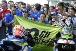 Third place Maverick Viñales, Team Suzuki Ecstar MotoGP, Cal Crutchlow, Team LCR Honda
