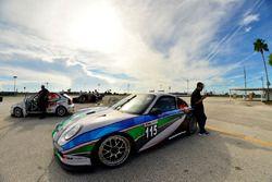 #115 MP2A Porsche 996 driven by Renato Tranardi of Formula Motorsport