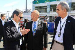 Pierre Fillon, président de l'Automobile Club De l'Ouest, Yojiro Terada, ambassadeur ACO