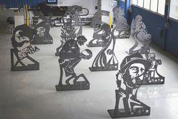 Esculturas de Ayrton Senna
