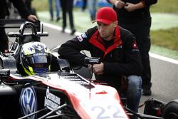 Joel Eriksson, Motopark Dallara F312 - Volkswagen with Jimmy Eriksson