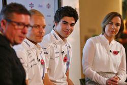 David Croft, Sky Sports Commentator, Valtteri Bottas, Lance Stroll, Claire Williams, Williams Deputy Team Principal