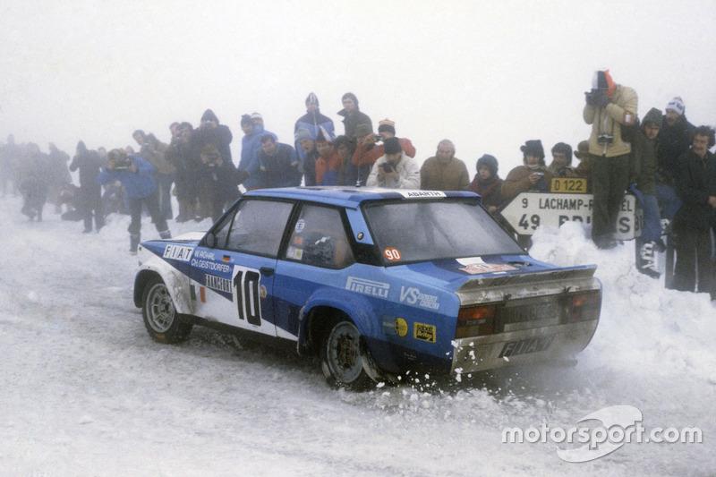 Walter Röhrl, Christian Geistdorfer, Fiat 131 Abarth