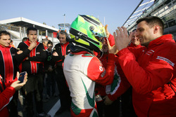 Race winner Mick Schumacher, Prema Powerteam