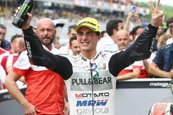 Le vainqueur Francesco Bagnaia, Aspar Team Mahindra Moto3