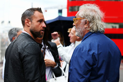 Philipp Plein, Fashion Designer with Flavio Briatore