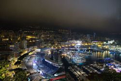 Monaco gece genel görünüm