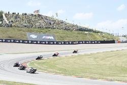 Acción en la carrera, Marc Marquez, Repsol Honda Team