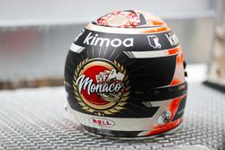 Stoffel Vandoorne, McLaren, helmet detail