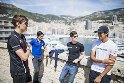 George Russell, ART Grand Prix, Arjun Maini, Trident, George Russell, ART Grand Prix, Sean Gelael, PREMA Racing