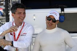 Roberto Amorosi - Managing Director, Oriol Servia, Scuderia Corsa with RLL Honda
