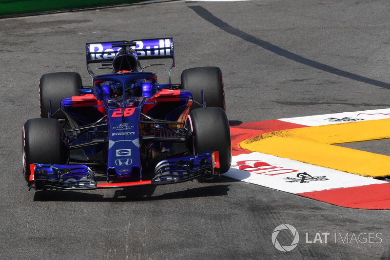 DNF Brendon Hartley, Scuderia Toro Rosso STR13