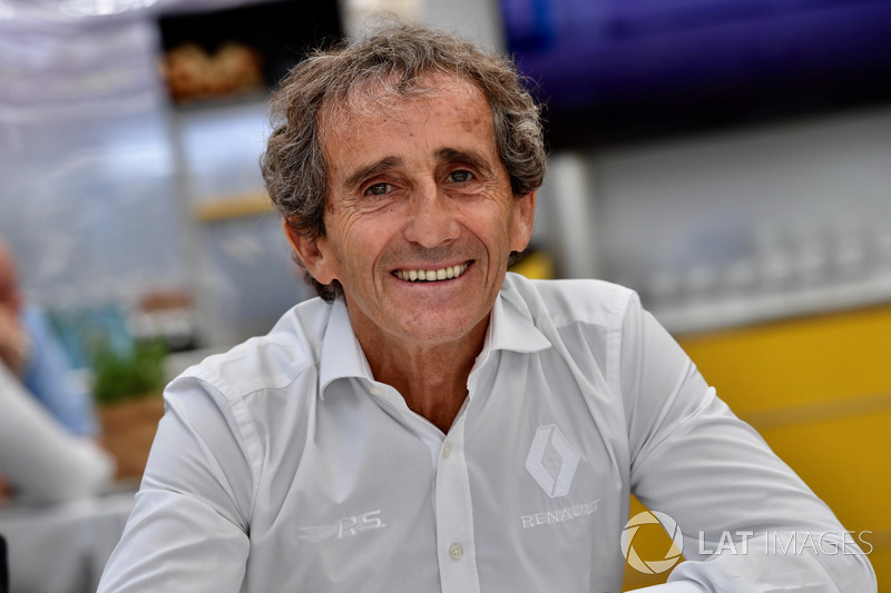 Alain Prost, consigliere speciale Renault Sport F1 Team