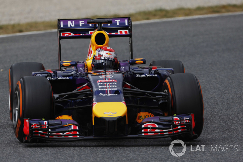 Sébastien Buemi, Red Bull Racing RB10, 2014