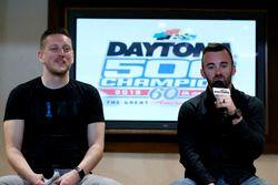 Austin Dillon, Richard Childress Racing Chevrolet Camaro with Crew chief Justin Alexander