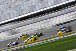 Johnny Sauter, GMS Racing, Allegiant Airlines Chevrolet Silverado and Matt Crafton, ThorSport Racing, Fisher Nuts/ Menards Ford F-150