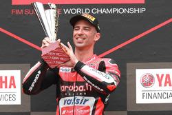 Podyum: Yarış galibi Marco Melandri, Aruba.it Racing-Ducati SBK Team