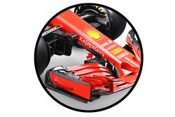 Conducto S del Ferrari SF71H