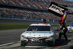 Gray Gaulding, BK Racing, Toyota Camry pit stop