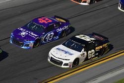 Darrell Wallace Jr., Richard Petty Motorsports, Click n' Close Chevrolet Camaro, Brendan Gaughan, Be