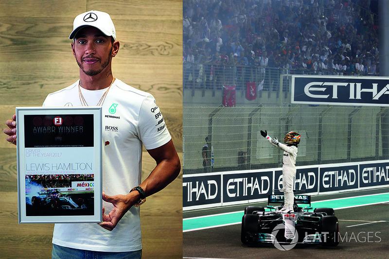 Lewis Hamilton, Mercedes AMG F1, piloto del año 2017