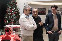 Maurizio Arrivabene, Sergio Marchionne, Mattia Binotto
