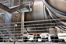 Le tunnel aérodynamique Sauber
