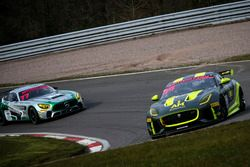#44 Invictus Games Racing Jaguar F-TYPE SVR GT4: Steve McCulley, Matthew George
