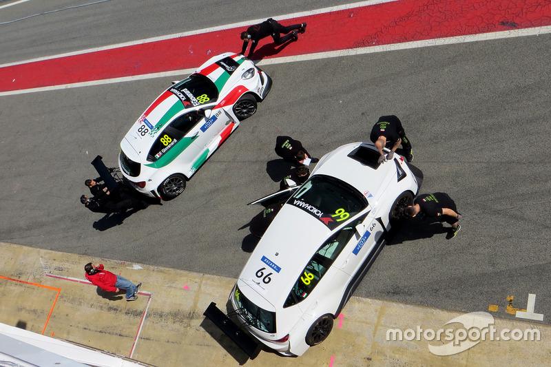 Zsolt Szabó, Zengo Motorsport Cupra TCR, Fabrizio Giovanardi, Team Mulsanne Alfa Romeo Giulietta TCR