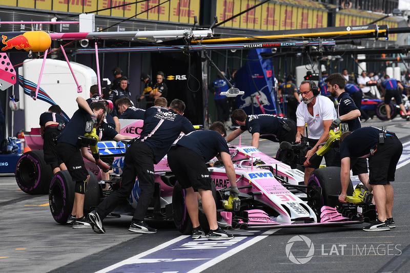 12 місце — Естебан Окон, Force India. Умовний бал — 7,423