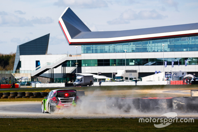 Грегуар Демустьє, Sebastien Loeb Racing Peugeot 208 Supercar