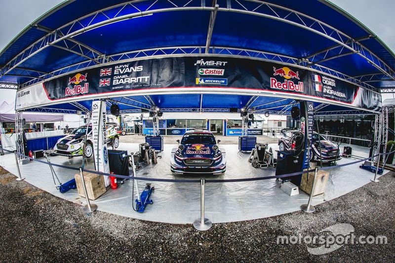 M-Sport Ford WRT Team area