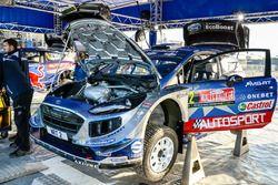 El auto de Ott Tänak, Martin Järveoja, Ford Fiesta WRC, M-Sport