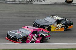 Matt Tifft, Joe Gibbs Racing Toyota and Ryan Sieg, RSS Racing Chevrolet