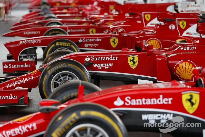 Monoposto Ferrari di F.1 in mostra