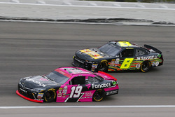 Matt Tifft, Joe Gibbs Racing Toyota and B.J. McLeod, BJ McLeod Motorsports Chevrolet