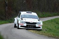 Nicolas Althaus, Alain Ioset, Skoda Fabia R5, Lugano Racing