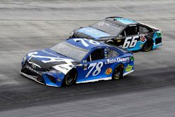 Martin Truex Jr., Furniture Row Racing, Toyota Camry Auto-Owners Insurance and Chad Finchum, Motorsp