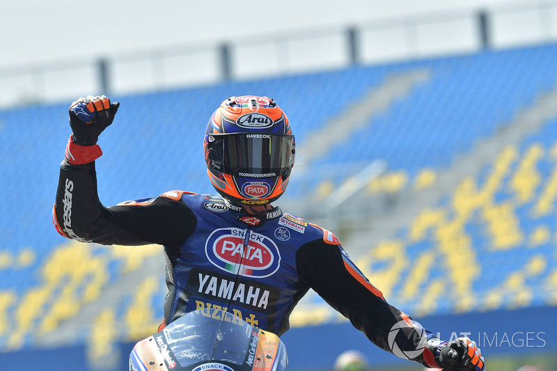 il terzo classificato Michael van der Mark, Pata Yamaha
