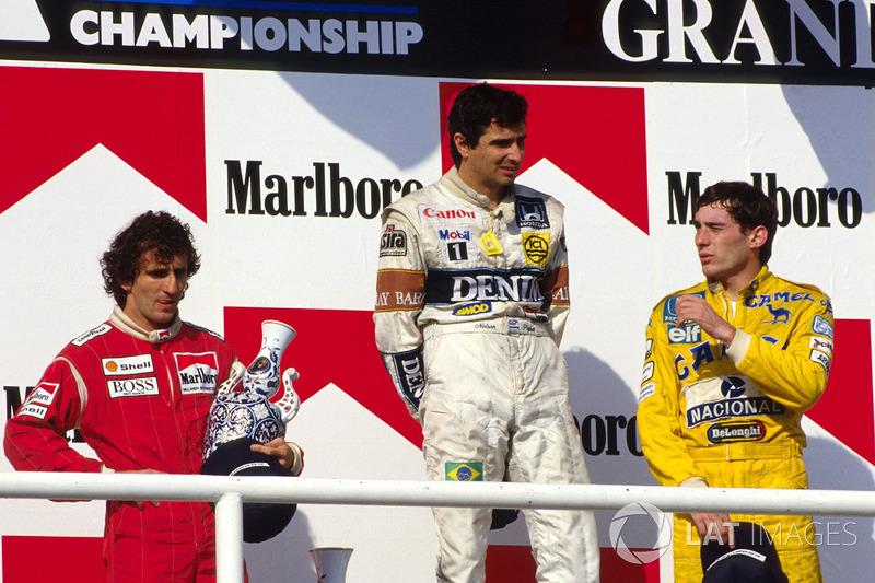 Voltando ao início da atual jornada, os brasileiros fizeram bonito nas primeiras edições. Piquet repetiu o feito em 1987, Ayrton Senna triunfou em 1988. O piloto, então na McLaren, voltou a vencer em 1991 e 1992.