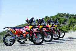 All Red Bull KTM Factory Team bikes