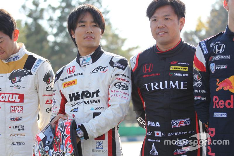 Nobuharu Matsushita and Kosuke Matsuura